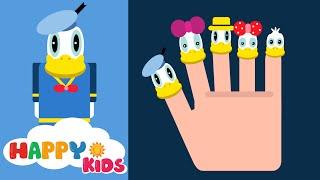Finger Family Disney Donald Duck Song For Children