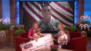 Video - An Emotional Skype with Dad on The Ellen Show!