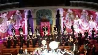 Banda de Gaitas de Lubián y Carlos Núñez en el Palau de la Música Catalana de Barcelona