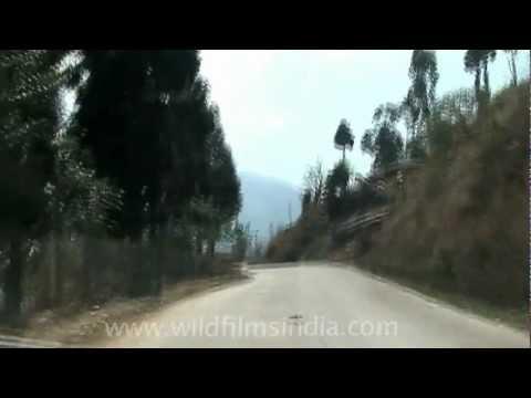 Travelling via Jakhama Village