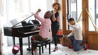 Kizomba Tutoriel #5 & Piano Isaac G feat Frans & Sarah Kizombalove (Take a bow)
