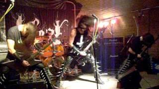 Inferi live at Mini Teatar, Osijek, Croatia - Heretics & Pagans Euro Tour 2009