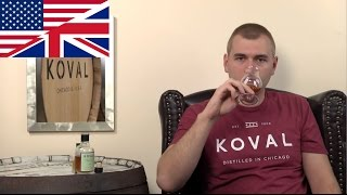 Whisky Review/Tasting: Koval Oat