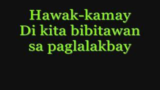 Hawak Kamay By  Yeng Constantino w  lyrics