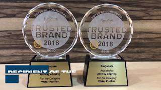eSpring Wins The Reader's Digest Trusted Brand 2018 GOLD Award!