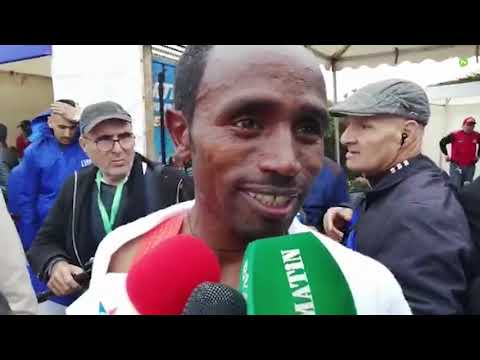 Video : Marathon international de Marrakech : Les Éthiopiens Fikadu Girma Teferti et Zewdu Asefa remportent la 30e édition
