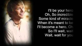 Sterling Knight   Hero lyrics acoustics
