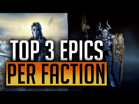 RAID: Shadow Legends | Top 3 Epic Heroes | Every faction covered!