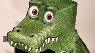 Amazing T-Rex Illusion!