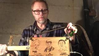 North Mississippi Hill Country Cigar Box Guitar