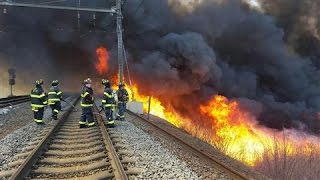 Fire Halts Trains Between New Jersey, NYC