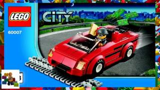 LEGO instructions - City - Police - 60007 - High Speed Chase (Book 3)