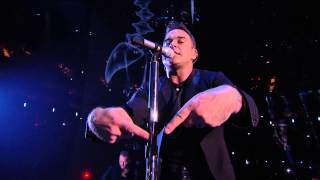 Robbie Williams Live @ the O2 - Performing BODIES