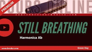 Green Day - Still Breathing - Harmonica Ab