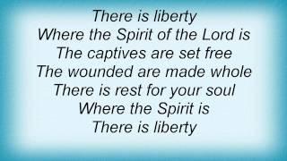 Kirk Franklin - Where The Spirit Is Lyrics