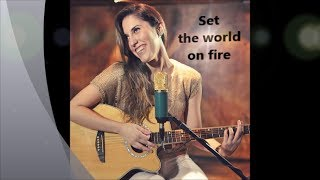 Britt Nicole - Set the World on Fire (cover by Isabella Rahd)