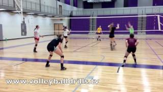 Volleyball Drill   Queen Series