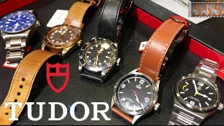 Checking Out Tudor Watches: Black Bay, Ranger, Pelagos, North Flag on the Wrist