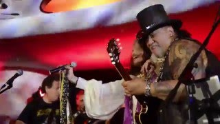 Steven Tyler and Samantha Fish with Willie K and The Warehouse Blues Band