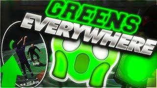 NBA 2k 18 Jumpshot 100% Green Lights