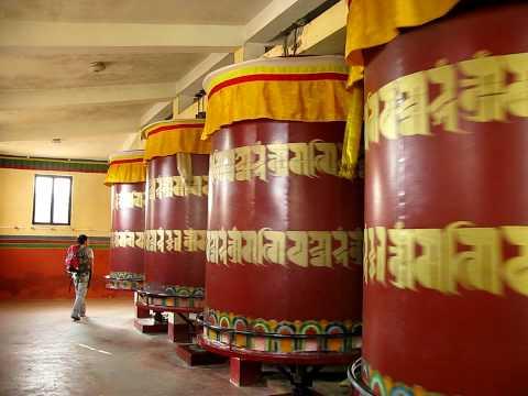 huge prayer wheels