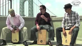 Incredible Cajon Performance on NYC Streets