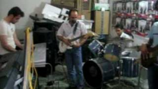 Lonely shepherd(cover)-RAHA Band 2009 practicing