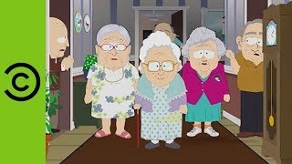 Don't Mess With 'Top Bitch' Of The Retirement Home | South Park