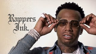 Moneybagg Yo Explains His Tattoos | Rapper's Ink. width=
