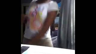 Kandyce dancing to surfboard remix