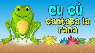 cu cu cantaba la rana (canción infantil)