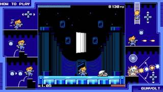 Mighty Gunvolt - Mirror Perfect Run