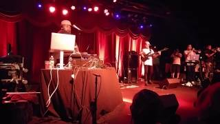 Dj premier with a live band at the Brooklyn Bowl