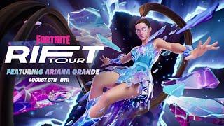 Ariana Grande tour announced within Fortnite