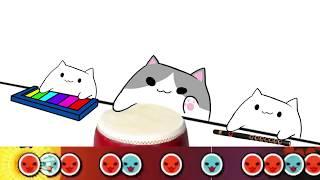 Bongo Cat play Taiko no Tatsujin