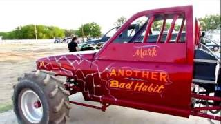 Another Bad HABBIT BLOWN BIG BLOCK CHEVY Rail Dragster