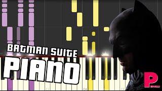 Batman theme | Batman v Superman  (Men are still good) Piano cover