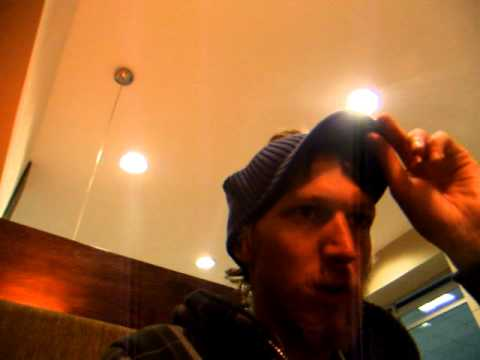 Drinking Coffee To Stay Awake At Quito Airport – Ecuador – December 2010