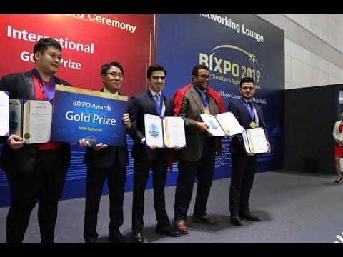 Video : L'UM6P offre au Maroc une médaille d'or au BIXPO 2019
