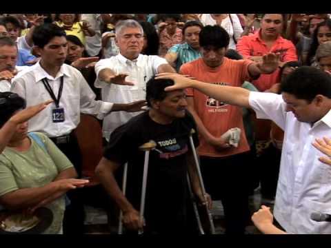 IURD ECUADOR – testimonio sr. con diabetes deja las muletas pr silva