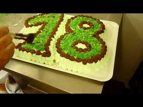 Come preparare una torta a forma di numero guide di cucina for Isola cucina a forma di torta