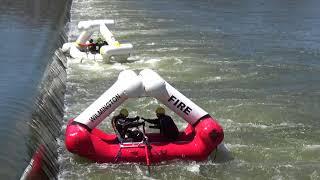 Waterwog Low Head Dam Rescue System 2019