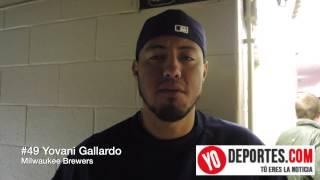 Yovani Gallardo Milwaukee Brewers