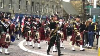 Fanfarra militar escocesa.