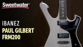 Ibanez Paul Gilbert FRM200 Electric Guitar Demo width=