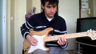 Europe - Open your heart- how to play tuto guitare YouTube En Français