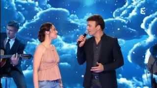 """Tony CARREIRA & Natasha ST-PIER interprètent """"Sous le vent"""""""