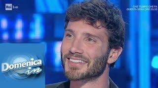 Stefano De Martino parla di Belén e Santiago - Domenica In 24/02/2019