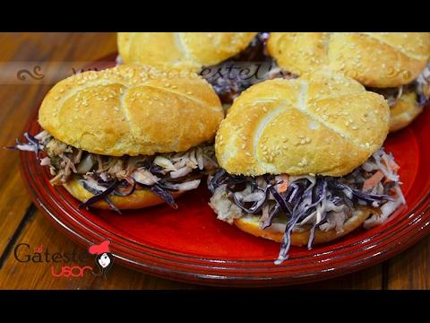 Reteta de Sandwich cu Friptura de Porc gatita incet