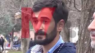 Polise ıslıkla PKK marşı çalan sözde öğrenciye bakın ne oldu